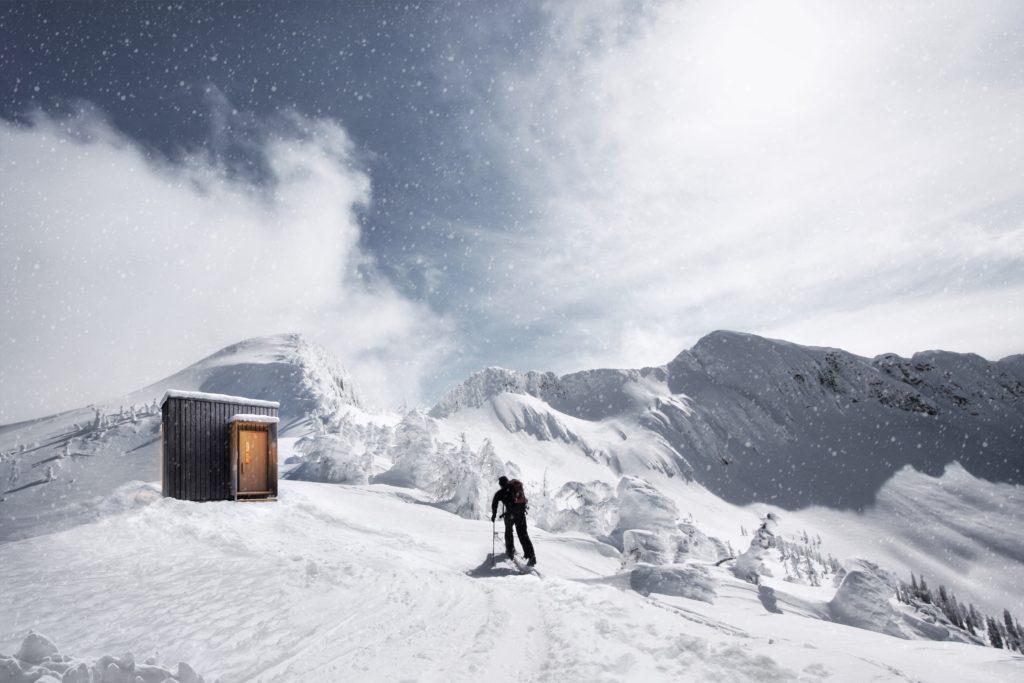 Ymir snowpeak concept rendering with WelPod
