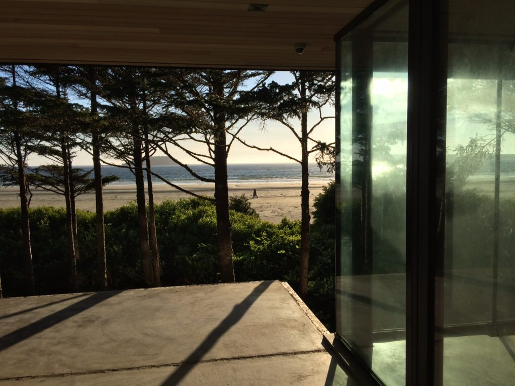 Exterior photo of Chesterman beach project overlooking ocean view